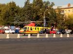 Из Жуковского вертолетом в Центр кардиологии