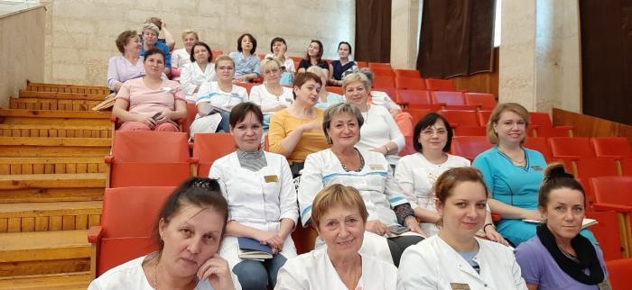 В четверг, 3 октября 2019 года в конференц-зале ГБУЗ МО «Жуковская ГКБ» состоялась сестринская конференция по вопросам профилактики инфекций связанных с оказанием медицинской помощи (ИСМП).