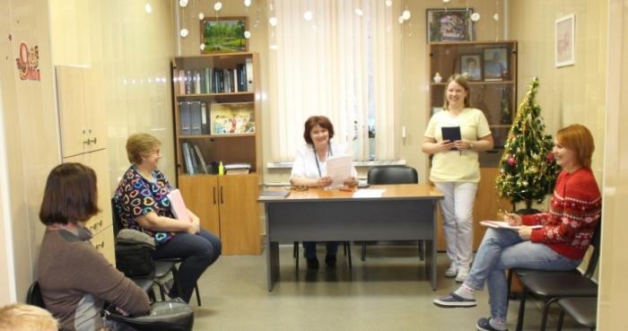 В понедельник, 13 января в конференц-зале акушерского отделения Жуковской ГКБ прошел посленовогодний Диет-флешмоб.