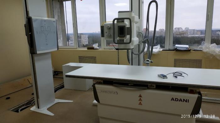 Еще один рентгеновский аппарат поступил на днях в Жуковскую городскую клиническую больницу.