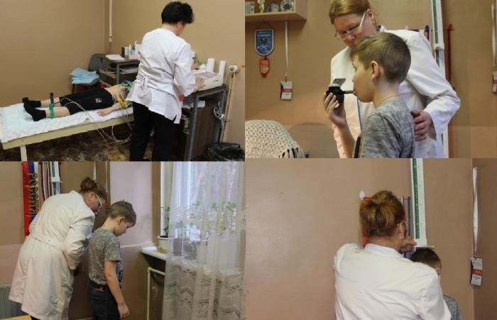 В отделении спортивной медицины проводятся медицинские обследования лиц, занимающихся физкультурой и спортом (в т.ч. массовым).