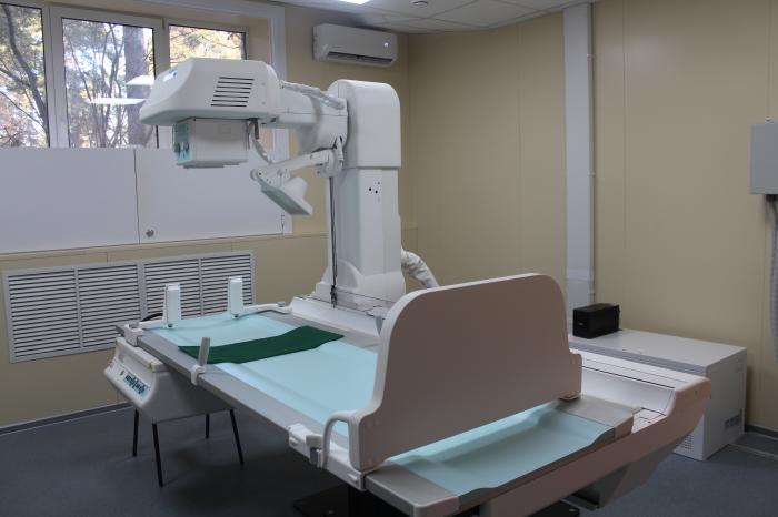 Внимание, в детской поликлинике № 1 на улице Дзержинского, 14  после ремонта вновь заработал рентген-кабинет