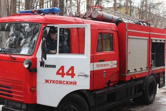 Пожарные учения в рамках общеобластной тренировки по эвакуации прошли 18 февраля в Жуковской ГКБ.