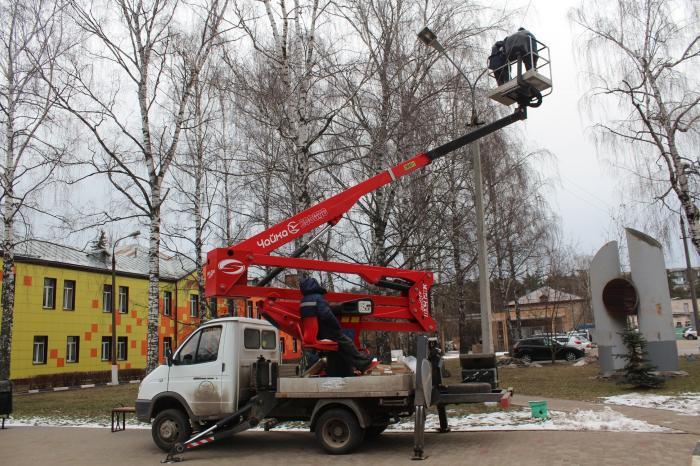 Известная в Жуковском - и не только у нас - фирма «Сервис-Ком» бесплатно, в качестве благотворительной помощи произвела на территории больницы замену 36 светильников