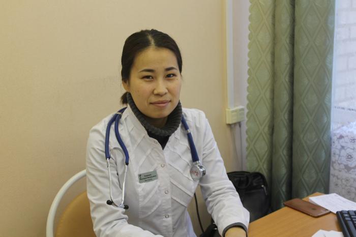 Виктория Валерьевна Ходжаева - врач-педиатр Педиатрического отделения №1 Жуковской ГКБ родилась в г. Элиста (Калмыкия).
