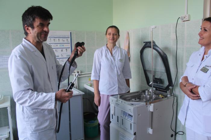 В Жуковской ГКБ организована круглосуточная эндоскопическая служба, сообщил заведующий отделением Виктор Грищенко.