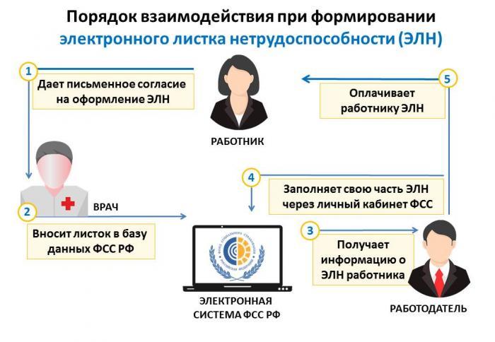В рамках информационного взаимодействия по электронным листкам нетрудоспособности страхователь запрашивает информацию