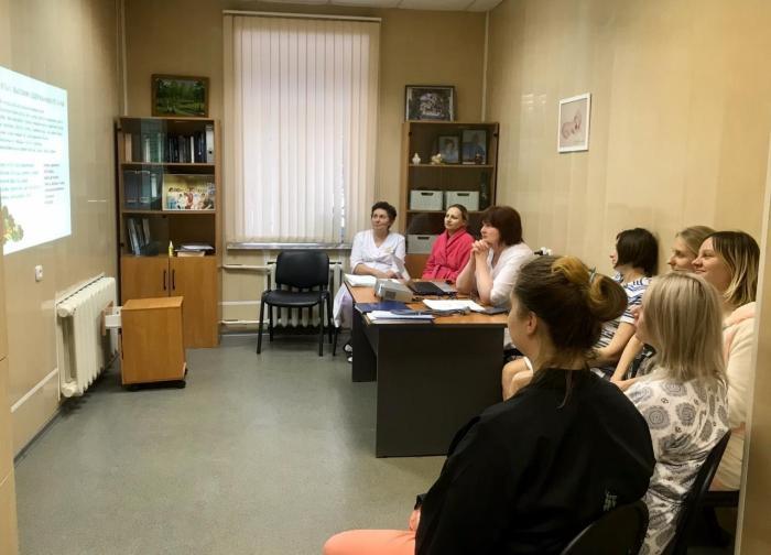 Сегодня в акушерском отделении Жуковской ГКБ состоялась лекция на тему «Гестационный сахарный диабет».