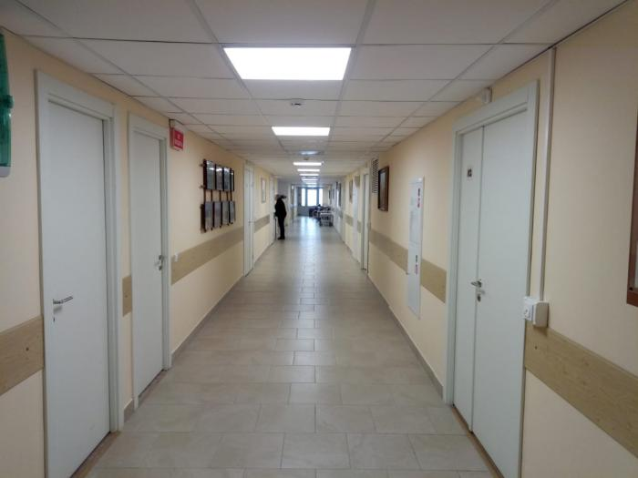 В 2018 году проведены работы по капитальному ремонту кардиологического и гинекологического отделений ГБУЗ МО Жуковская ГКБ, расположенных в главном 14-ти этажном корпусе больницы.