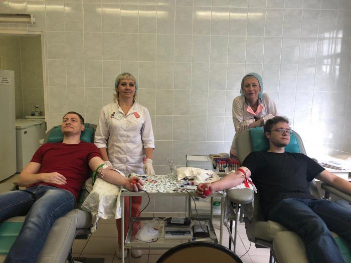 В акции «Всероссийская донорская суббота», прошедшей 3 августа в отделении переливания крови Жуковской ГКБ, приняли участие 17 человек (ещё 8 желающим было отказано по медицинским показаниям). Общий объём сданной крови составил около 7 литров.
