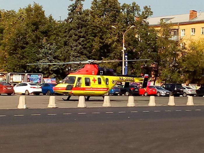 Очередной перевод пациента из Жуковской ГКБ в Национальный Медицинский исследовательский Центр кардиологии МЗ РФ при помощи медицинской авиации состоялся сегодня в наукограде.
