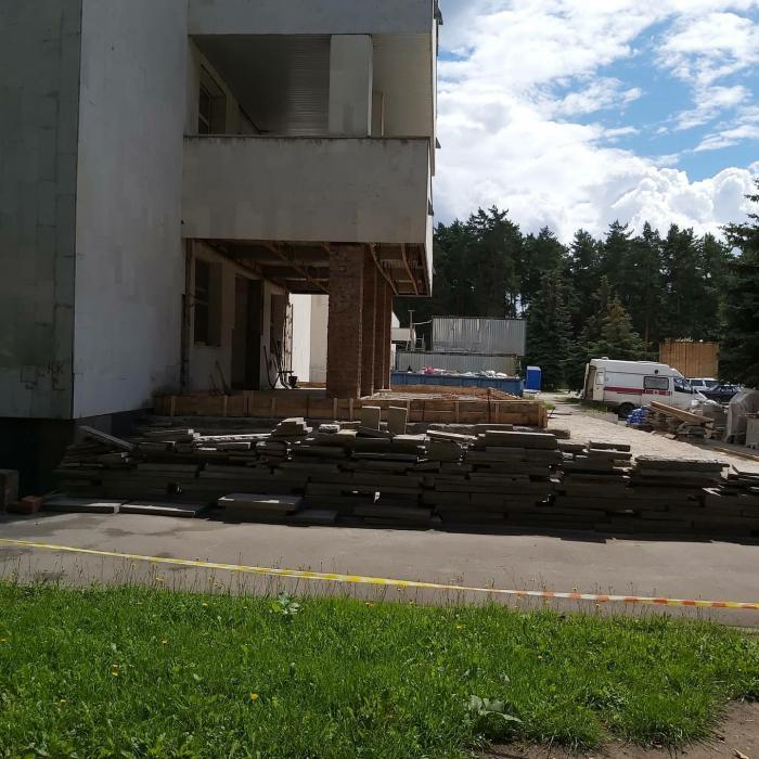 #БылоСтало #ремонт в Жуковской ГКБ идет полным ходом.