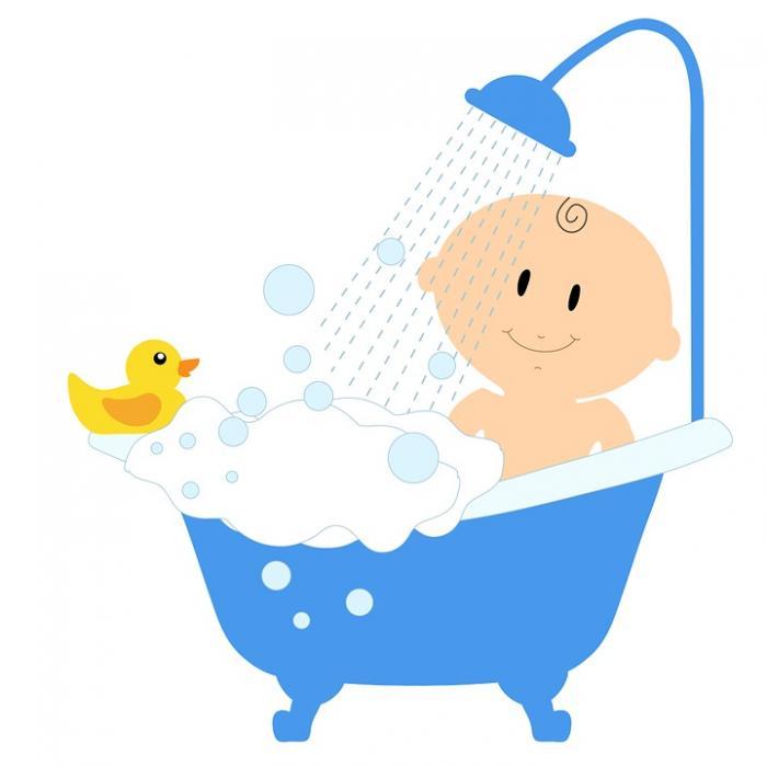 Совет №3 : Как купать малыша?