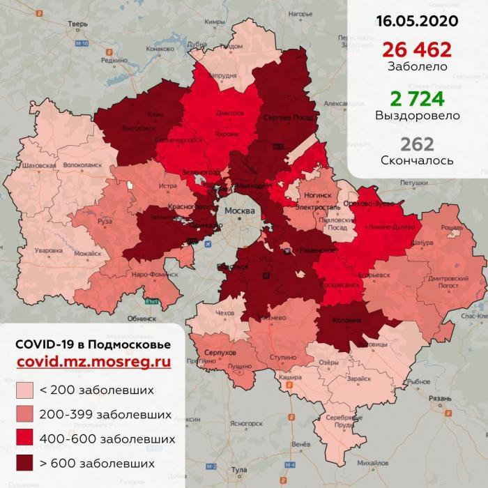 По состоянию на 16 мая в Жуковском зафиксировано 318 (+ 19) случаев заболевания коронавирусной инфекцией.