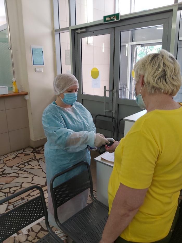 С 8 июня 2020 года Жуковская ГКБ начала работать в новом режиме, который условно можно назвать промежуточным режимом.