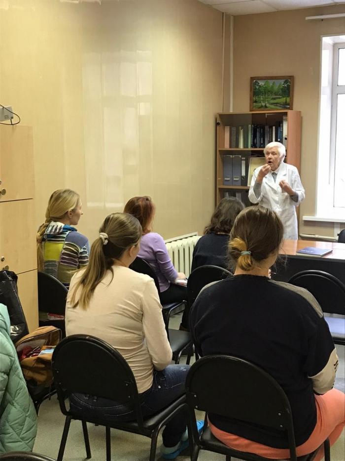 В минувший вторник в акушерском отделении Жуковской ГКБ состоялись лекции на тему «Грудное вскармливание» и «Уход за новорождённым».