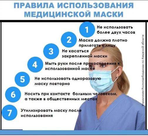 Маски - это средства защиты барьерного типа. Они помогают защитить ваш организм от возбудителей ОРВИ и других респираторных заболеваний, передающихся воздушно-капельным путем. При этом важно помнить, как правильно использовать маску.
