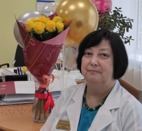 Сегодня, 21 мая свой день рождения отмечает заместитель главного врача Жуковской ГКБ по охране здоровья детей Галина Шарифовна Соболь!