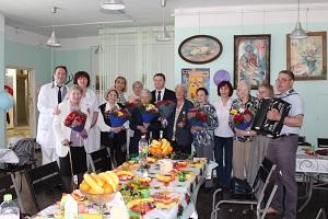 Сегодня, незадолго до Дня Победы, по доброй традиции в Жуковской ГКБ состоялась встреча с медиками - ветеранами Великой отечественной войны.