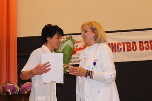 В конференц-зале Жуковской городской больницы состоялось торжественное мероприятие, посвященное Дню медицинского работника, отмечаемого во всем мире сегодня, 13 июня.