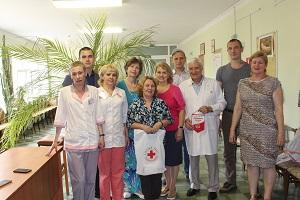 Сегодня, 14 июня, в Международный день донора в поликлинике Жуковской ГКБ поздравили пятерых жителей города, получивших звание Почётного донора в этом году.