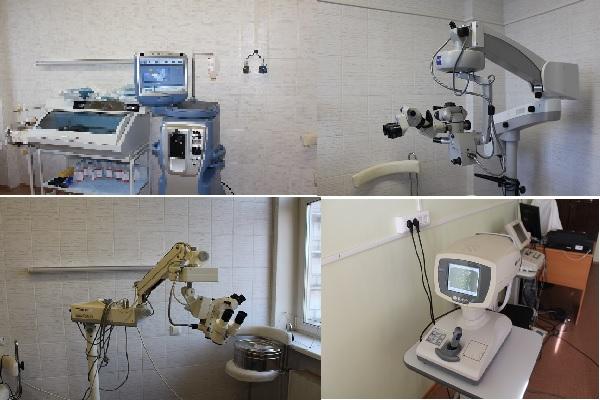 Офтальмологическое отделение Жуковской ГКБ оснащено современным, высокотехнологичным медицинским оборудованием.