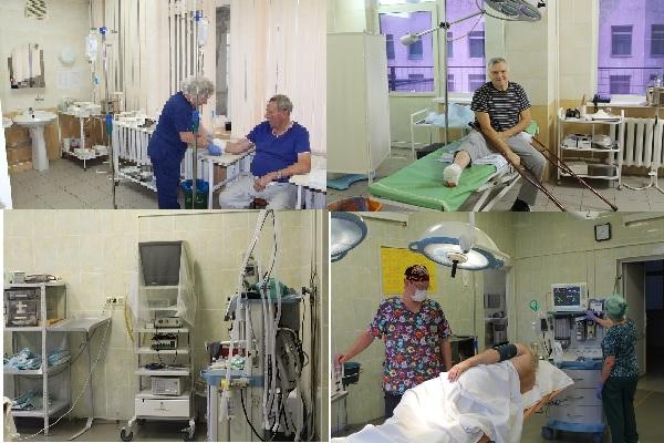 Во втором хиургическом отделении используются современное оборудование для проведения операций на мировом уровне:
