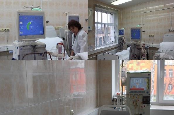 Отделение гемодиализа в Жуковской ГКБ было открыто 1 апреля 2006 года.