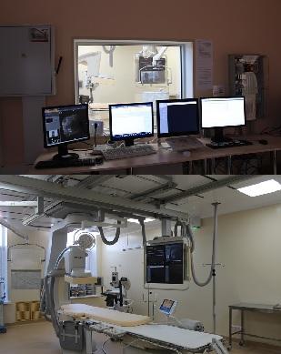 Отделение рентгенохирургических методов диагностики и лечения (РХМДиЛ) функционирует на базе сосудистого центра с 2014 года.