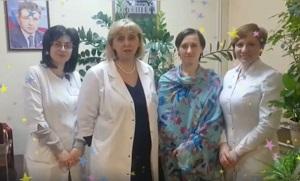 Сотрудницы Жуковской городской больницы поздравляют мужчин с 23 февраля!