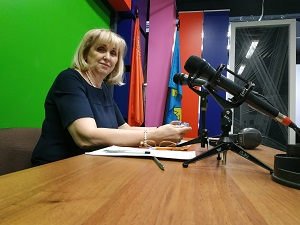 Главный врач Жуковской городской клинической больницы Лилия Бусыгина пообщалась с журналистами.